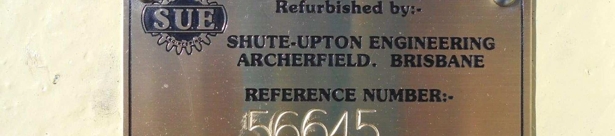 Shute Upton Plaque